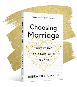Choosing Marriage Image Gold Glitter